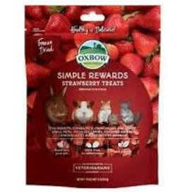 OXBOW PET PRODUCTS SIMPLE REWARDS STRAWBERRY .5OZ