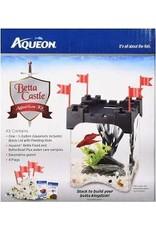 AQUEON BETTA CASTLE KIT .5GAL BLACK