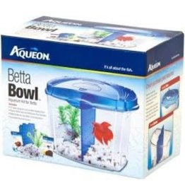 AQUEON BETTA BOWL KIT 0.5G BLUE