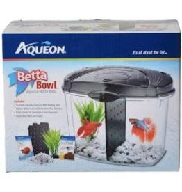 AQUEON BETTA BOWL KIT 0.5G BLACK