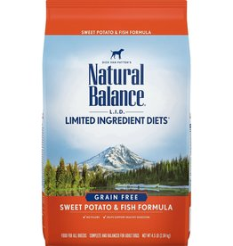 NATURAL BALANCE NB GF Fish/Potato 13lb