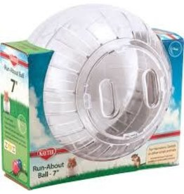 KAYTEE PRODUCTS INC RUNABOUT BALL CLEAR 7in