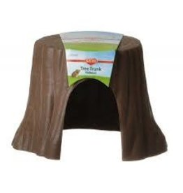 KAYTEE PRODUCTS INC KAYTEE NATURAL STUMP HIDEOUT SMALL AST.COLOR