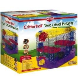 KAYTEE PRODUCTS INC CRITTERTRAIL TWO LEVEL HABITAT
