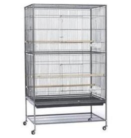 PREVUE PET PRODUCTS INC FLIGHT CAGE BLK 30X20X52