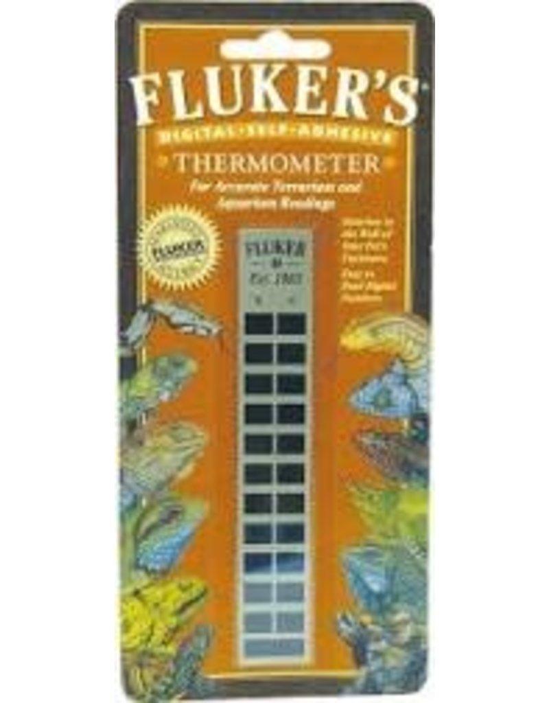FLUKER LABORATORIES STICKY FLAT THERMOMETER