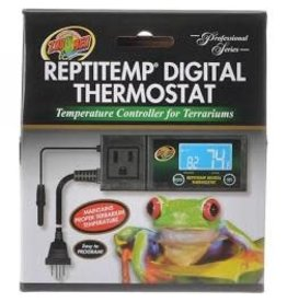 ZOO MED LABORATORIES INC REPTITEMP DIGITAL THERMOSTAT 12