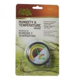 ZILLA HUMIDITY/TEMP DIAL GAUGE 24