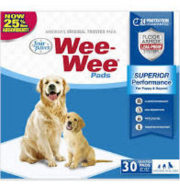 FOUR PAWS PET PRODUCTS WEE WEE PADS 30 PK