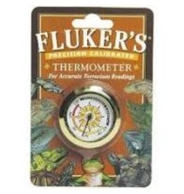 FLUKER LABORATORIES ROUND THERMOMETER