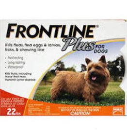 FRONTLINE Frontline Plus  5-22lb. 3 doses