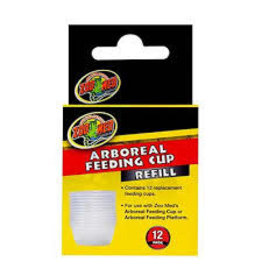 ZOO MED LABORATORIES INC ARBOREAL FEEDING CUP 12PK
