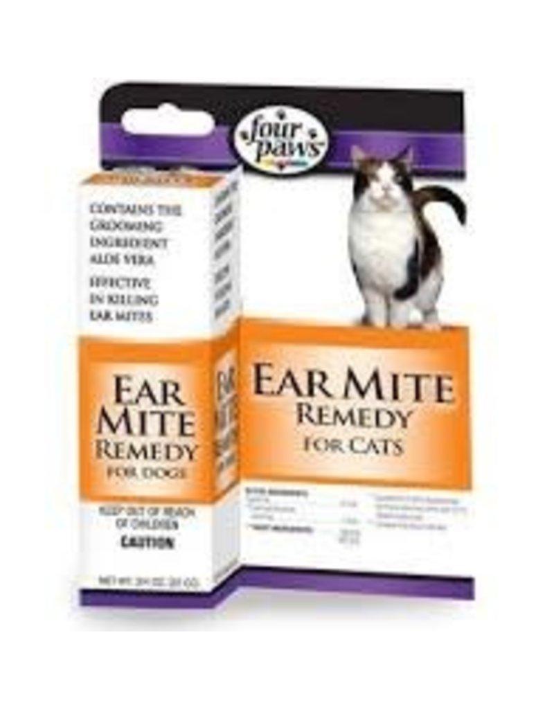 FOUR PAWS PRODUCTS LTD ALOE EAR MITE TRTMNT CAT .75OZ