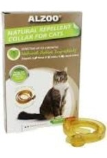 ALZOO NATURAL REPELLENT COLLAR FOR CATS 4-MONTH