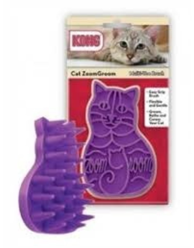 KONG COMPANY CAT ZOOM GROOM BRUSH