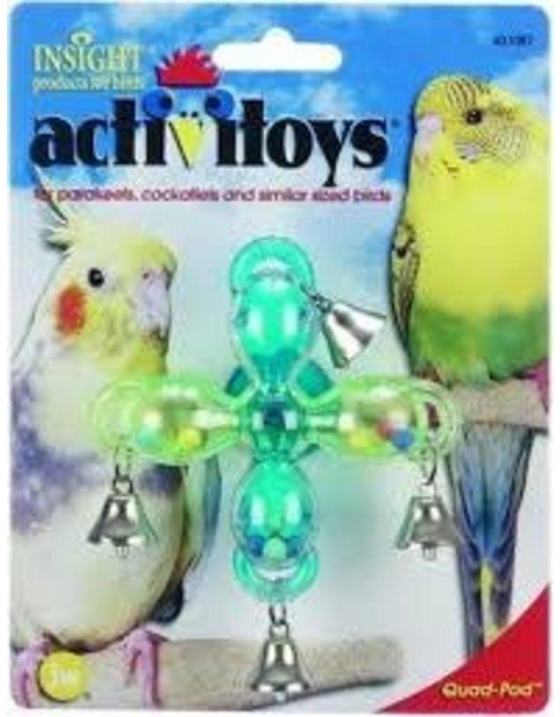 JW BIRD ACTIVITOY QUAD-POD
