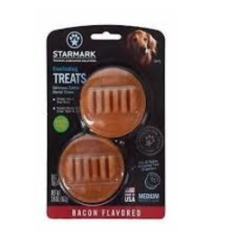 STARMARK PET PRODUCTS EVERLASTING TREAT MEDIUM BACON