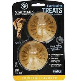 STARMARK PET PRODUCTS EVERLASTING TREAT MEDIUM CHICKEN