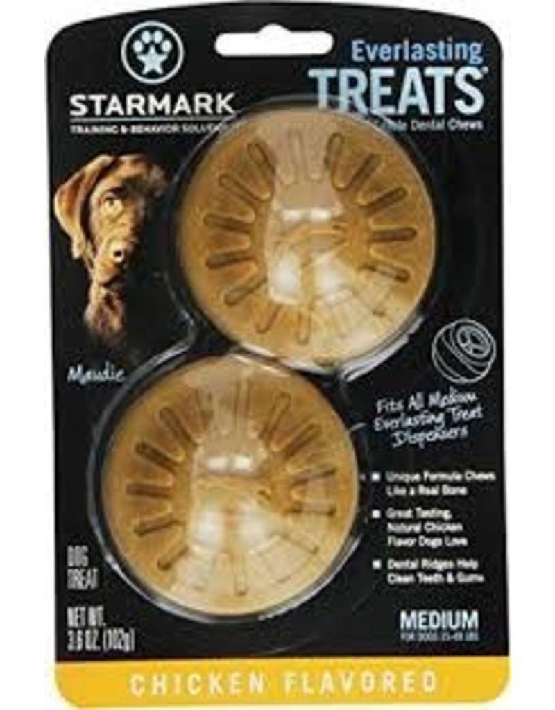 STARMARK PET PRODUCTS EVERLASTING TREAT MEDIUM CHICKEN