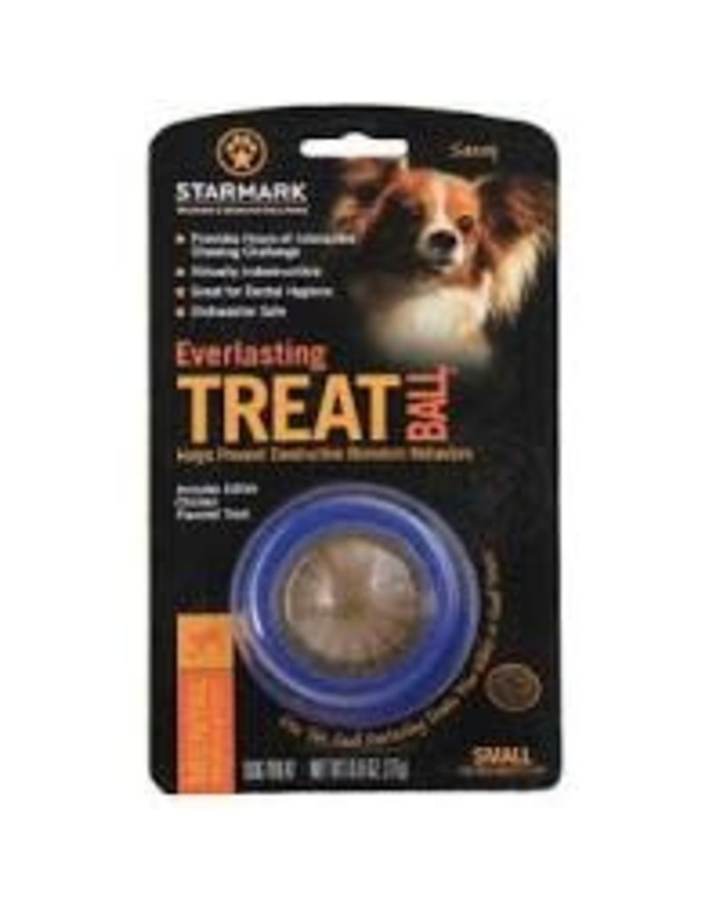 STARMARK PET PRODUCTS EVERLASTING TREAT BALL SMALL