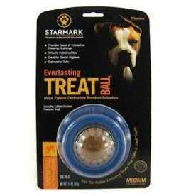 STARMARK PET PRODUCTS EVERLASTING TREAT BALL MEDIUM