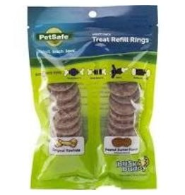 PETSAFE - TOYS/TREATS BB PBUTTER RAWHIDE RING SM   24