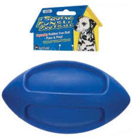 JW - DOG/CAT I SQUEAK RUB FOOTBALL LGE