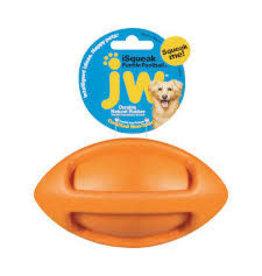 JW - DOG/CAT I SQUEAK RUB FOOTBALL MED