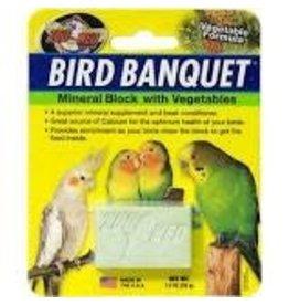 ZOO MED LABORATORIES INC SM BIRD BANQUET BLOCK VEGETABLE