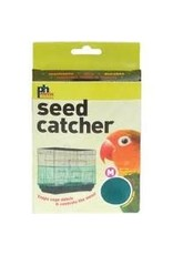 PREVUE PET PRODUCTS INC MEDIUM SEED CATCHER BLACK & WHITE