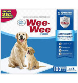 FOUR PAWS - CONTAINER WEE WEE PADS PUP 100PK