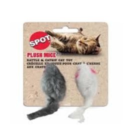 SPOT PLUSH MOUSE TWIN PACK 2 IN