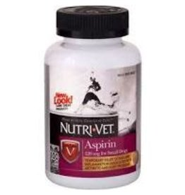 NUTRI-VET K9 ASPIRIN 120MG SM/MD DG 100CT