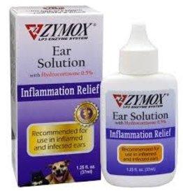 ZYMOX Zymox 1.25 oz Ear Solution w/.5% Hydrocortisone EA