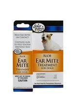 FOUR PAWS PET PRODUCTS ALOE EAR MITE TREATMENT DOG .75OZ