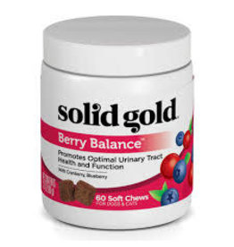 SOLID GOLD PET LLC Solid GOLD Berry Balance 60 chews