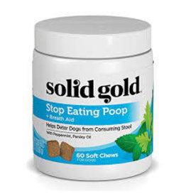 SOLID GOLD PET LLC STOP EATING POOP FOR DOGS 3.17 OZ