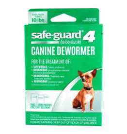 SAFE-GUARD SAFEGUARD 4 DEWORMER SM DOG