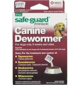SAFE-GUARD SAFEGUARD DOG WORMER 4GM