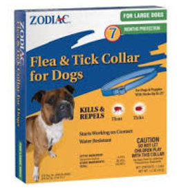 ZODIAC FLEA/TICK DOG COLLAR LARGE
