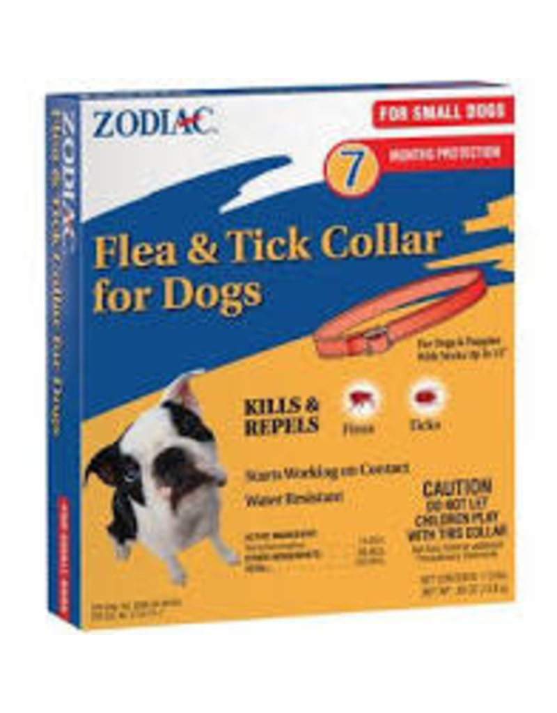 ZODIAC FLEA & TICK COLLAR SM DOG