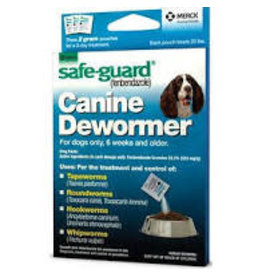 SAFE-GUARD SAFEGUARD DOG DE-WORMER 2GM 3-PK
