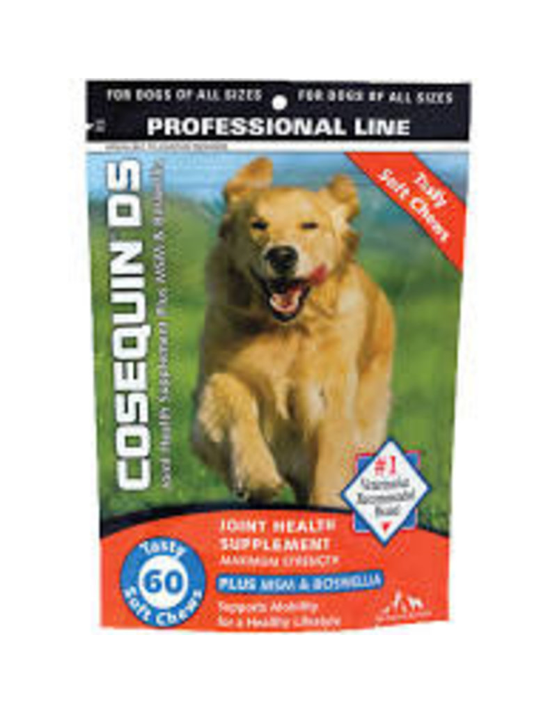 NUTRAMAX/COSEQUIN COSEQUIN DOG JOINT HEALTH SOFT CHEW + MSM 60CT