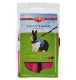 KAYTEE PRODUCTS INC HARNESS/STRETCHY LEASH XLRG NECK SIZES 10-13'' WAIST 16-18'' AST.COLORS