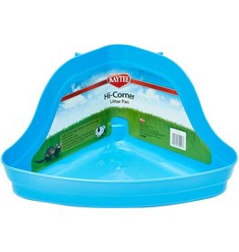 KAYTEE PRODUCTS INC LARGE HI-CORNER LITTER PAN 20''L X 13''W X 10''H AST.COLORS