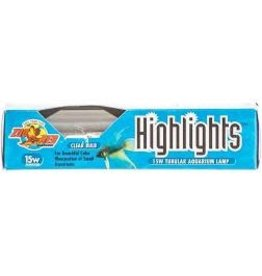 ZOO MED LABORATORIES INC HIGHLIGHTS T-10 15W CLEAR