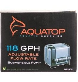 AQUATOP NANO PUMP SUBMERSIBLE 118GPH 60