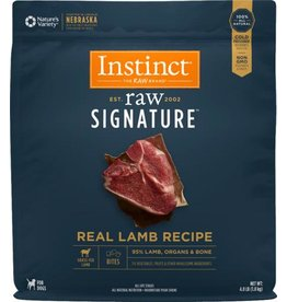 NATURE'S VARIETY/FROZEN NV INSTC RAW FRZN LAMB 4#