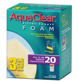 AQUACLEAR AquaClear 20 Foam Insert (3/pack)