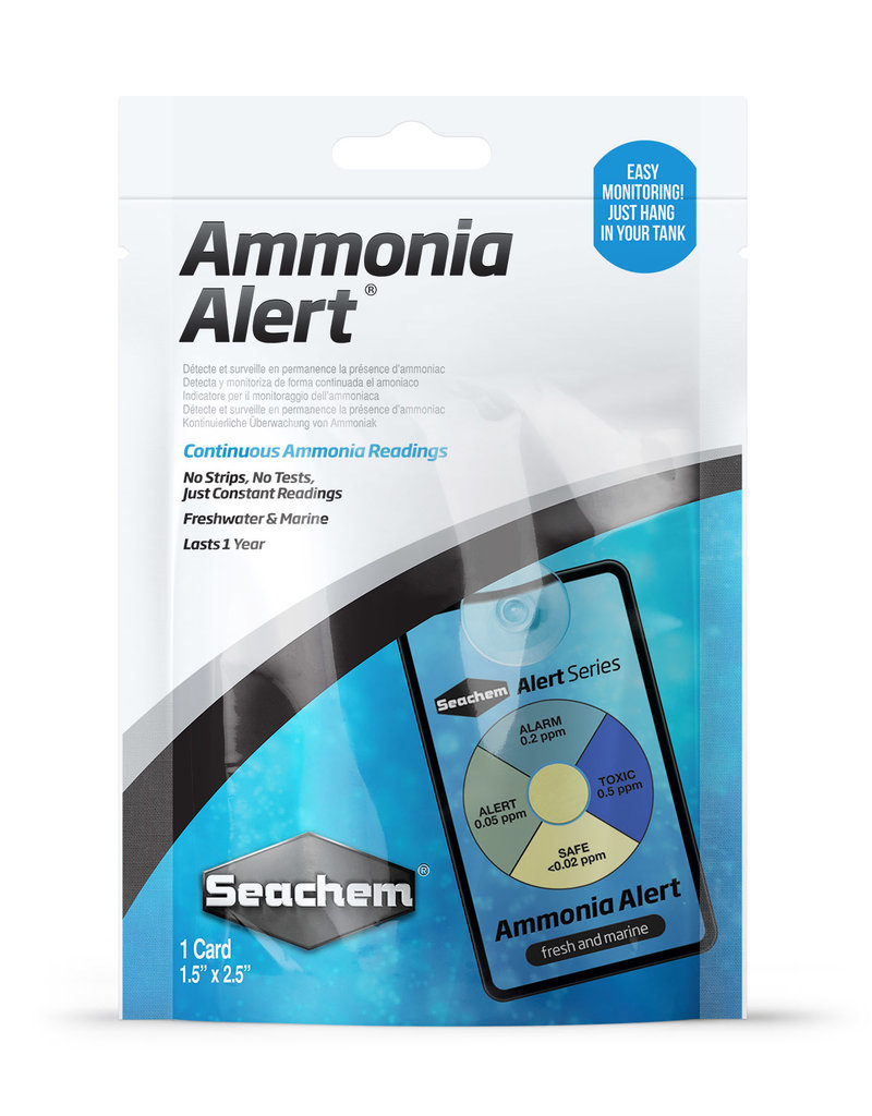 SEACHEM LABORATORIES INC AMMONIA ALERT 1 YEAR MONITOR